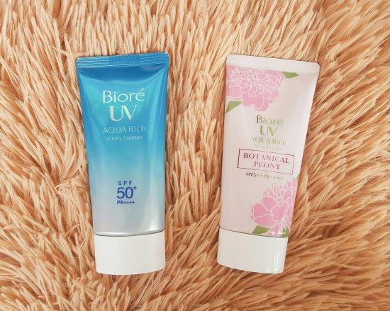 Biore UV Aqua Rich Watery Essence Botanical Peony