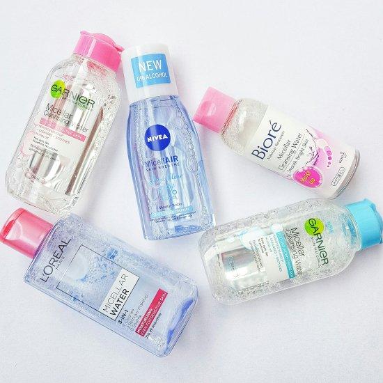 Drugstore Micellar Water: Biore, Garnier, L'Oreal & Nivea